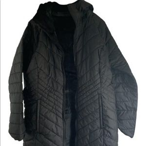 The North Face reversible parka